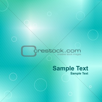 Blue green abstract aqua background