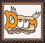 Graffiti of the word Doom