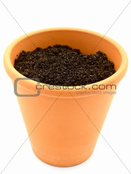 pot with ground