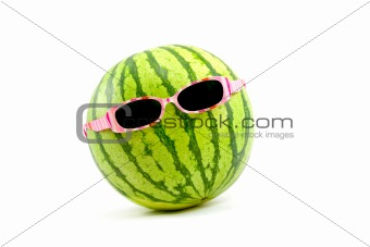 Watermelon in Sunglasses