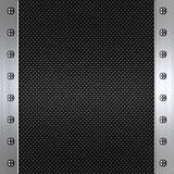 carbon fibre and steel background