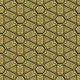 patterned gold background