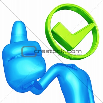 Thumbs Up Approval