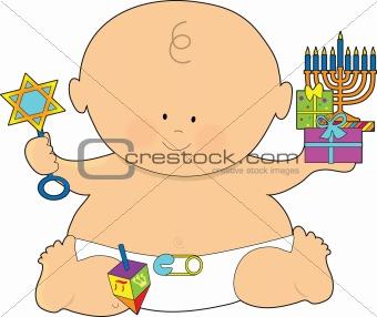 Baby Hanukkah