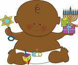 Baby Hanukkah Black