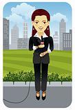 Profession series: Television reporter