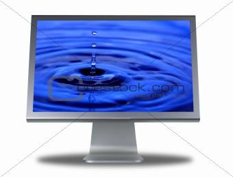 lcd monitor flat screen