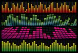 Four Music Equalizer Web Banners