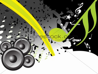 abstract funky vector background for text25