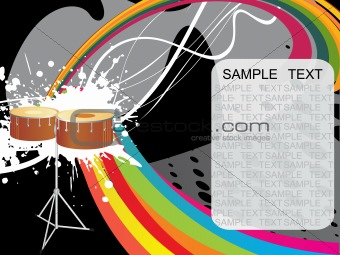 abstract funky vector background for text26
