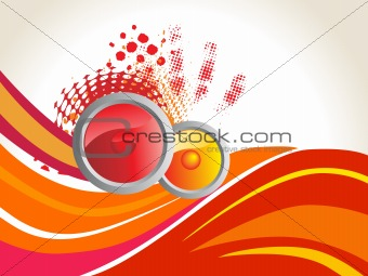 abstract funky vector background for text34