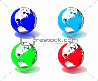 Translucent globes