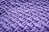 violet knitted