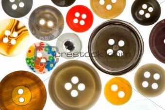 Assorted Antique Buttons