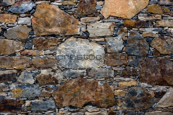 grunge background made with old weathered stones