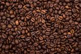 background made with coffee beans