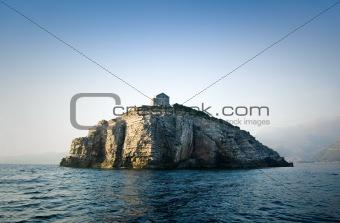 Villa on an island