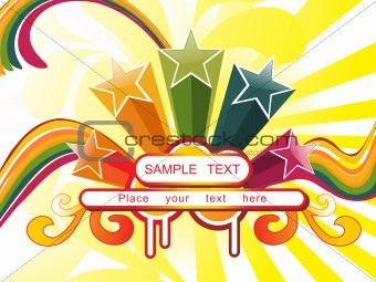 abstract background with place for text, design50