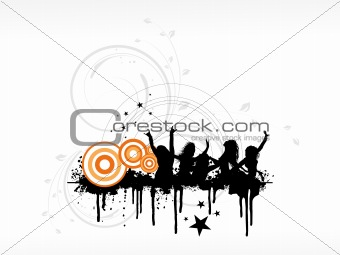abstract background with place for text, design65