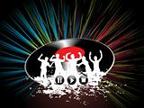 party people disc background