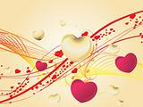 valentines shining heart, banner39