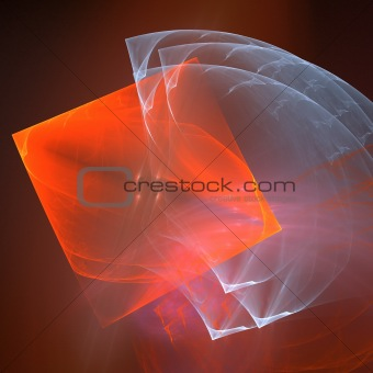 Abstract background. Orange - gray palette.
