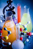 Molecular Model - Laboratory glass