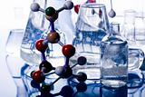Laboratory glass and Atom design