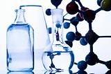 Laboratory glass and Atom design