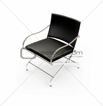 Chair against white