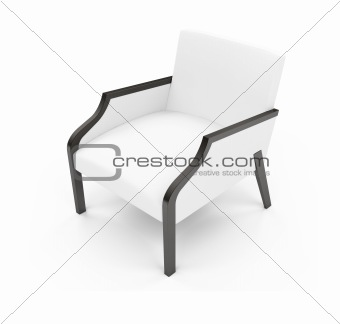 Chair against white