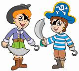 Pirate boy and girl