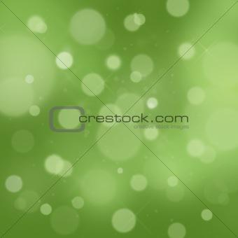 Green Glittery background