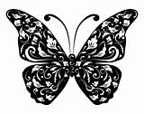 Butterfly silhouette for your design