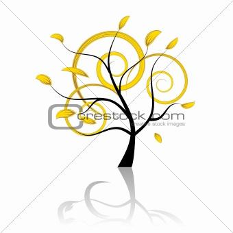 Art tree beautiful