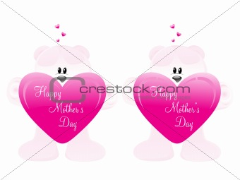 abstract illustration image for mother day