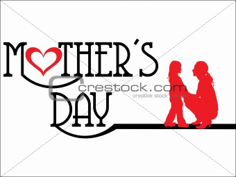 abstract Mothers day background