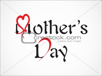 abstract simple mother day background