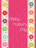 pretty mother day card