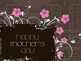 stylish  pattern mother day background
