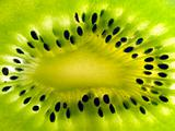 kiwi slice close up