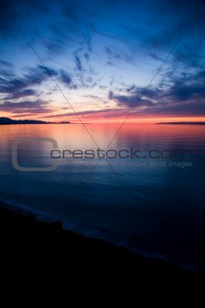 Strait of Juan de Fuca Sunset