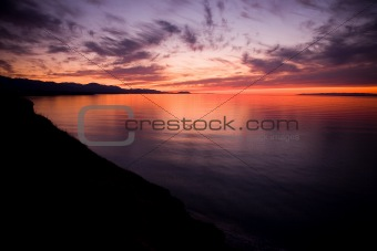 Strait of Juan de Fuca Sunset