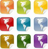 Americas square stickers