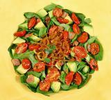 Warm Bacon And Avocado Salad