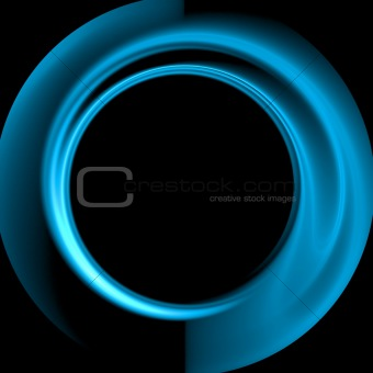Abstract background. Black - blue palette.