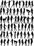 Dancing woman collection