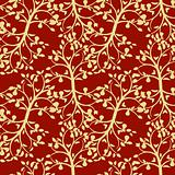 Foliage seamless background