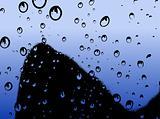 Water Droplets Rising - Vector illustration