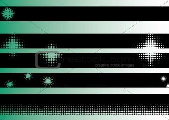 Black Grunge Strips 6